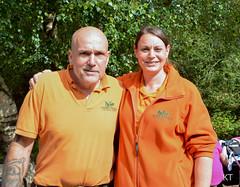 Jeremy & Kate (Carine06) Tags: green ktt3738 monkeyworld primaterescue jeremykeeling kate dorset chimpanzee orangutan ape monkey gibbon jimcronin alisoncronin monkeylife monkeybusiness