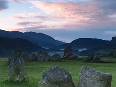 Castlerigg Stone circle (jeff.dugmore) Tags: lakedistrict england stonecircle castlerigg uk britain mystical ancient stones neolithic bronzeage nationalpark scenic hills mountains sky grass green morning blue mist serene grassland rural nature hillwalking scenery tranquil landscape