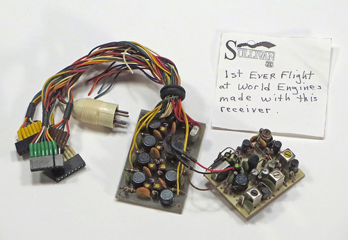 First World receiver flown