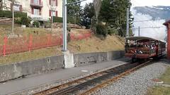 Rigi Mountain Steam Railway (Kecko) Tags: 2017 kecko switzerland swiss schweiz suisse svizzera innerschweiz zentralschweiz schwyz sz arthgoldau mountain cog railway railroad bahn zahnradbahn eisenbahn train zug rb rigibahn bergbahn rigibahnen dampfbahn steam locomotive dampflokomotive h12 video swissvideo geotagged geo:lat=47047560 geo:lon=8547140