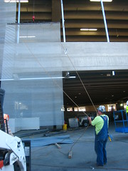 IMG_5045 (saltandonion) Tags: art architecture facade airport construction garage parking sanjose terminal installation sjc mediaart