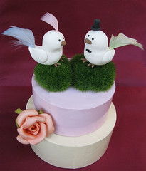 Love birds wedding cake toppers - Uccellini per torte nuziali (PassionArte) Tags: original wedding sculpture white cute verde green love grass birds birdie groom bride funny handmade unique decoration feathers craft erba caketopper etsy bianco sposa torte decorazione scultura modellingclay sposo uccellini statuine piume fattoamano sposini nuziali pastamodellabile