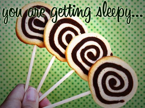 Hypnotic Wheel Cookie Pops