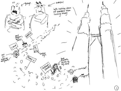 Client's sketch 1
