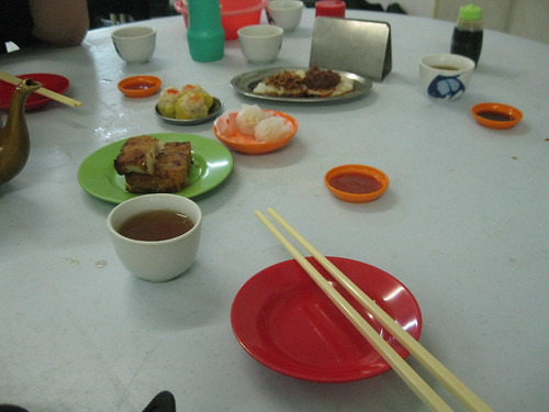 Our 7am Dim Sum breakfast upon arrival in Penang