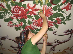 Levent Şirvan Restaurant dekoratif desen uygulaması (Ozlem Cakirli) Tags: restaurant levent dekoratif desen uygulaması şirvan