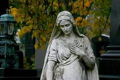 Zentralfriedhof Estatua