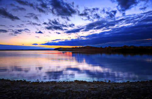 フリー画像| 自然風景| 湖の風景| 夕日/夕焼け/夕暮れ| アメリカ風景|       フリー素材|