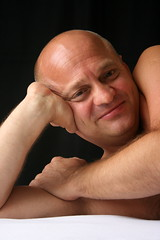 David #9 Smile (just.Luc) Tags: portrait man male face retrato uomo mature portret ritratto hombre homme visage gezicht