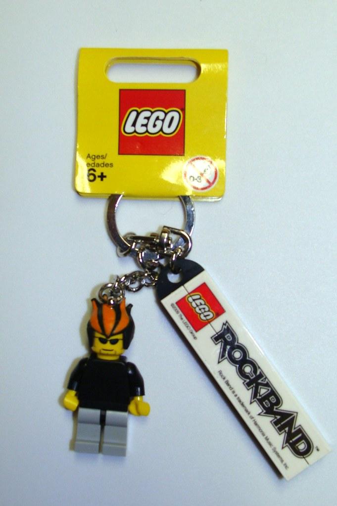 LEGO ROCKBAND KEYCHAIN