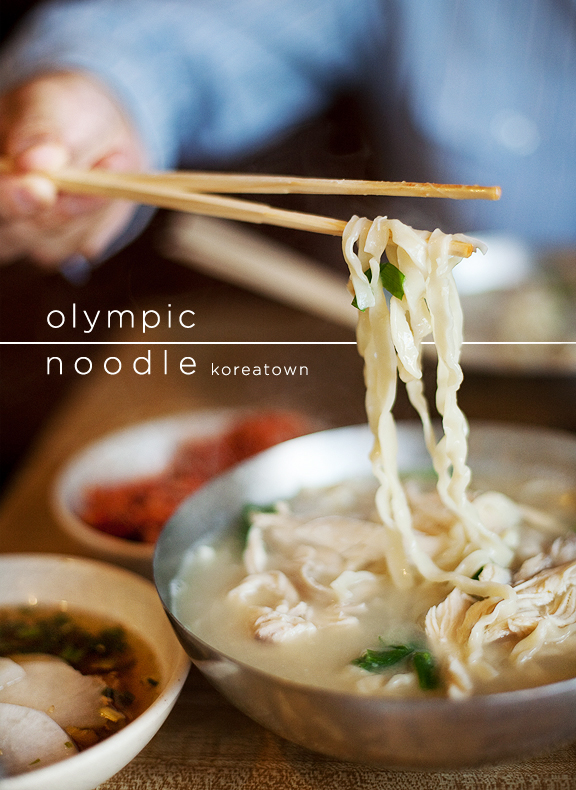 Olympic Noodle, Koreatown Los Angeles