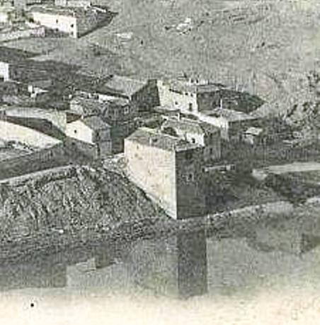 Torre del Hierro de Toledo hacia 1900. Foto Roisin