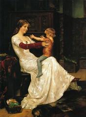 EDELFELT, Albert  Queen Blanka, 1877