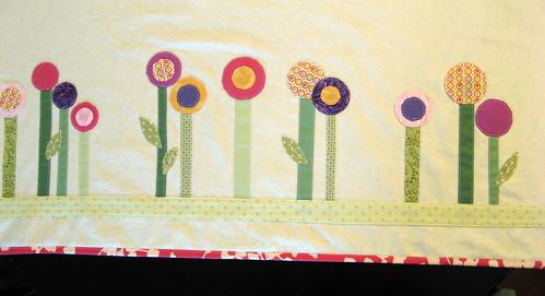 Baby Blanket - Modern Garden