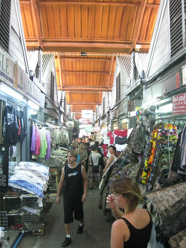 The endless stalls of Chatuchak Market