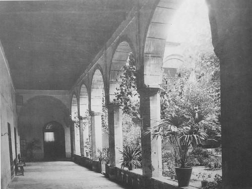 Convento de Santa Fe a inicios del siglo XX. Archivo de Clara Delgado