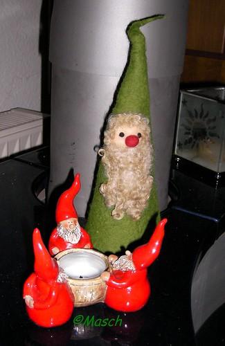 Weihnachtsfilzmann