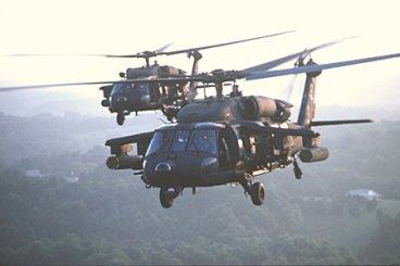 Black Hawk Copters