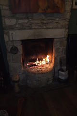 Red Lion Log Fire