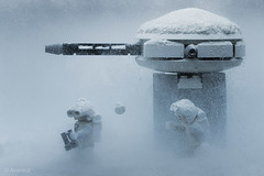 The Long And Winding Days on Echo Station 3-T-8. (Avanaut) Tags: snow trooper cold macro ice toy toys rebel star starwars lego wars minifig 60mm hoth theempirestrikesback theotherside scoutpost echostation3t8