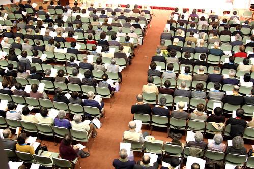 くにびきメッセ国際会議場にて「親鸞聖人750回大遠忌松江組お待ち受け法要」