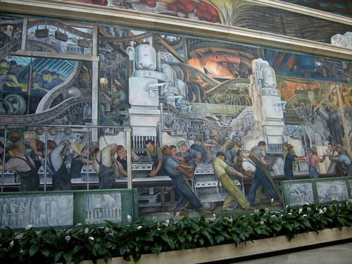 Rivera murals in Detroit