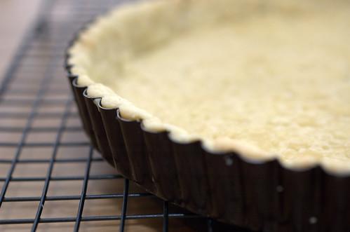 pinenut rosemary tart
