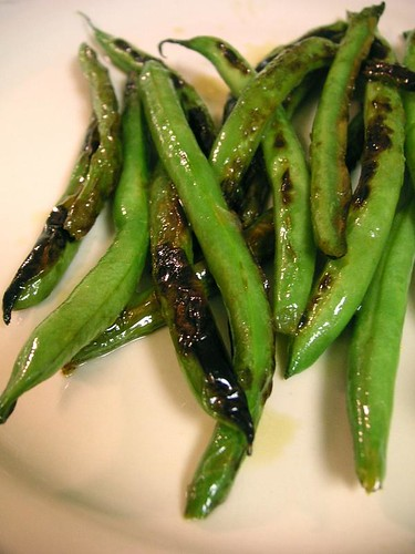 Citrus Seared Green beans