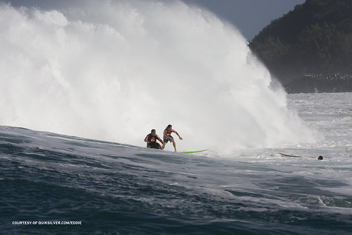 The Quiksilver in Memory of Eddie Aikau, Fueled by Monster Energy