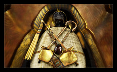King Tut 6 (Loki Popinjay) Tags: kingtut sl secondlife slart heritagekey hkvx