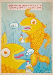 peces en el rio (:raeioul) Tags: rio navidad peces beben raeioul