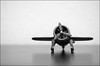 off we go:  344/365 (helen sotiriadis) Tags: bw white black macro monochrome closeup plane canon airplane toy published dof bokeh gray depthoffield 365 propeller canonef100mmf28macrousm canoneos40d toomanytribbles