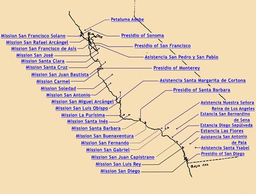 Misiones y asistencias de la Alta California (ss. XVIII-XIX)