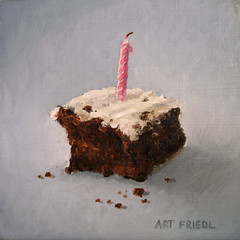 Cake (fRiedl aRt) Tags: 6 art by oil friedl rockford in masonite artfriedl