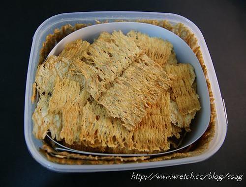 來自巴里島的點心‧超薄魷魚片