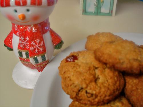 Dried Fruit Oatmeal Cookies