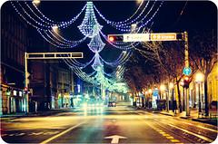 Zagreb by night (strelar) Tags: night nikon bokeh 85mm croatia zagreb 18d d90 strelar