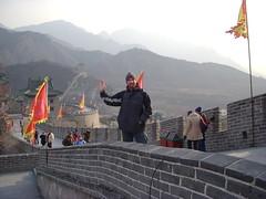 Marko at the Great Wall