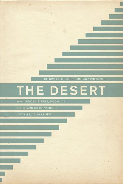 Poster for The Desert