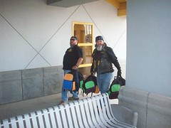 Prez & V.P. hand deliver for kids (THMC) Tags: top mc valley imperial hatters