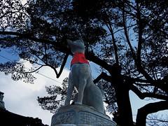 Statue of Fox - Fushimi Inari Taisha