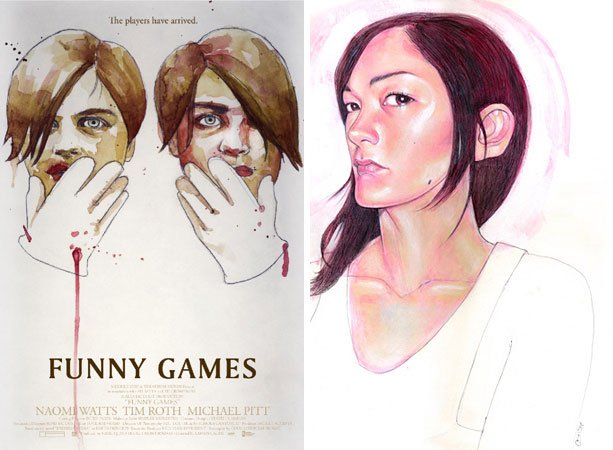 """Movie Poster of the Week: An Interview with """"Funny Games ... Funny Games Us Online"""