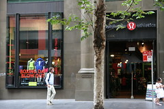 Lululemon Athletica - George St (Yen Chin) Tags: street george lululemon athletica