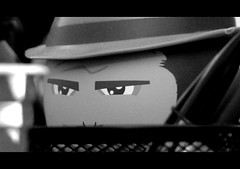 JONES!!!! (JEOR Photography) Tags: blackandwhite toy collectors indianajones vynal mightymugs canonsx20is