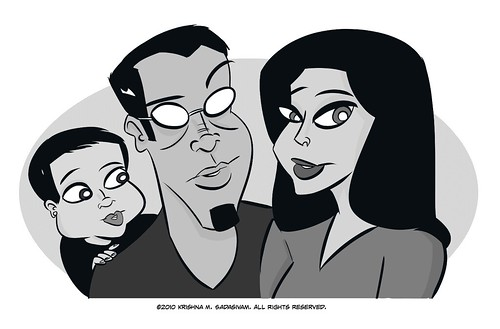 UNcubed family portrait final art