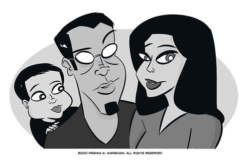 UNcubed family portrait final art