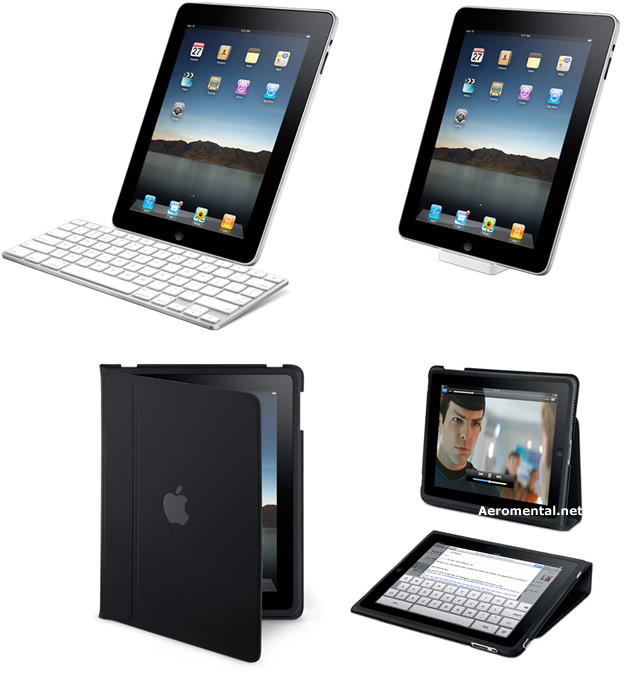 iPad external keyboard dock