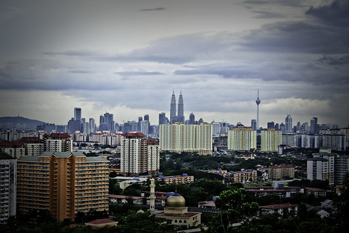 Kuala Lumpur From Cemerlang Heights