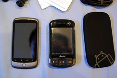 Compared with Dopod D810 (HTC P3600) - Google Nexus One