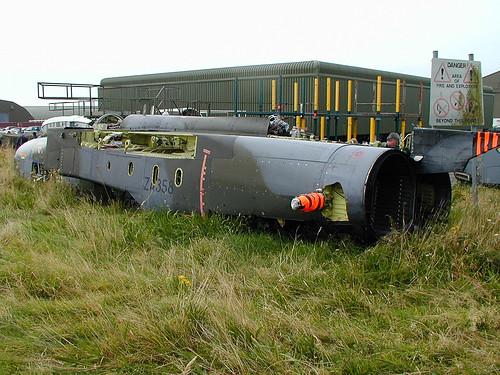 GR.1 fuselage ZA358 Picketston 160902
